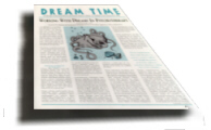 Get your ad in the ASD Dream Time Magazine